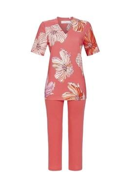 Pyjama met 7/8 broek 1271201 Peach Ringella Cherie Line