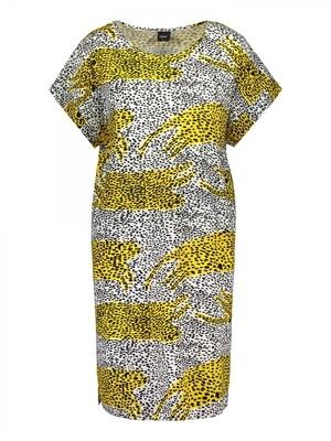 Big shirt Lianna 26364z21 Yellow Print Nanso