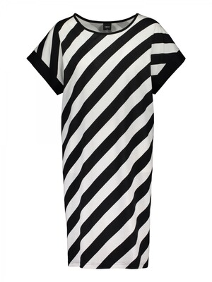 Big shirt Kulma 26350z21 Zwart / Wit Nanso