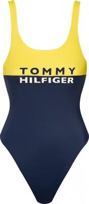 Badpak UW0UW02083 Bold Yellow Tommy Hilfiger