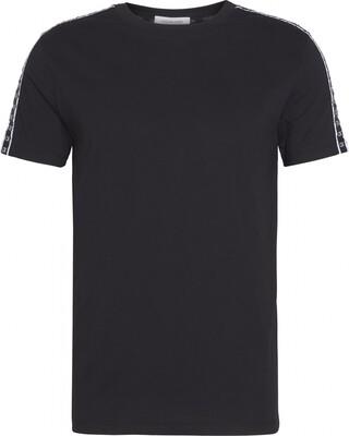 Heren T-shirt KM0KM00475 Black Calvin Klein