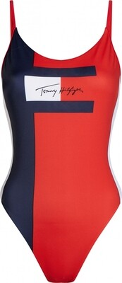 Badpak UW0UW02183 Pitch Blue Tommy Hilfiger