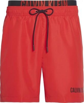 Zwemshort KM0KM00450 Rood Calvin Klein