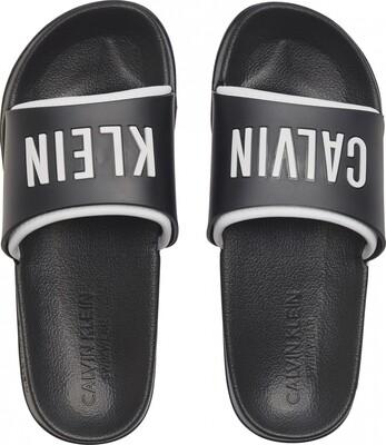 Slippers KW0KW01033 Black Calvin Klein
