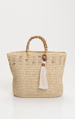 Tivoli bag TIV01933 Naturel Pia Rossini