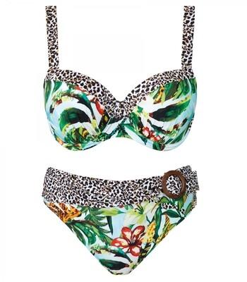 Bikini 12005z21 Groen Print Nuria Ferrer Aruba