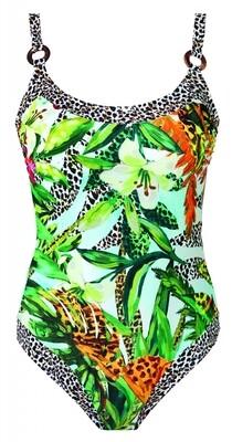 Badpak 12201z21 Groen Print Nuria Ferrer Aruba