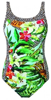 Badpak 12216z21 Groen Print Nuria Ferrer Aruba