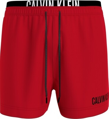 Heren zwemshort KM0KM00552 Red Calvin Klein