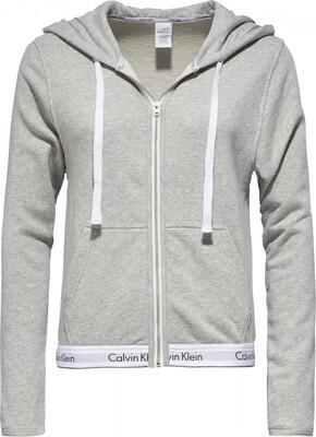 Hoodie QS5667Eb02 Grey Calvin Klein