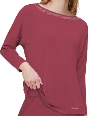 Shirt wide neck QS6540E Deep Sea Rose Calvin Klein