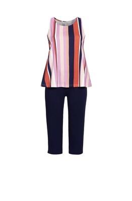 Pyjama met capribroek 1271208 Bunt Ringella Cherie Line