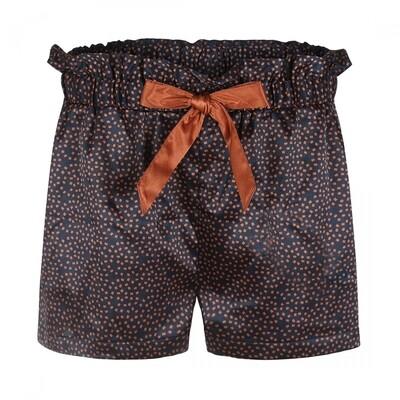 Women shorts E39141-38 Navy + Cognac Charlie Choe