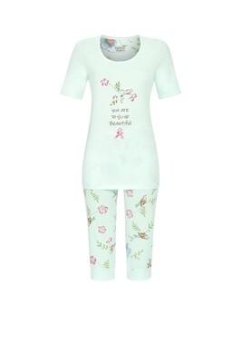 Pyjama met capribroek 1261215 Helle lagune Ringella Lingerie