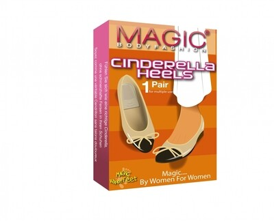 Cinderella heels 60CH Transparant MAGIC