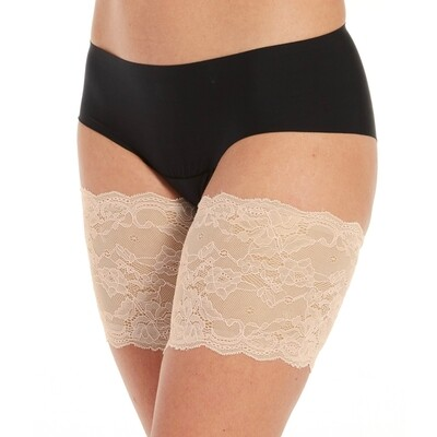 Be Sweet To Your Legs Lace dijenbanden 75BL Latte MAGIC
