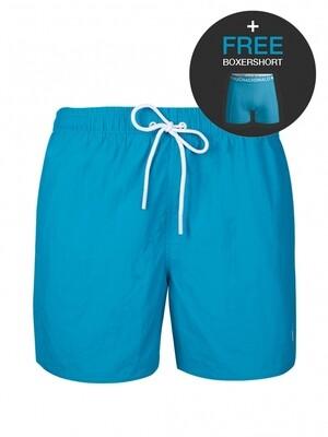 Heren zwemshort SOLID2062-09 Turquoise Muchachomalo