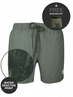 Heren zwemshort WATRC2062-01 Print Muchachomalo Water React