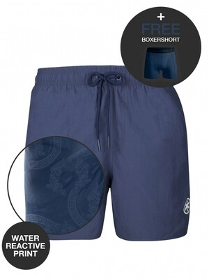 Heren zwemshort MUC WATRC2062-02z21 Navy Muchachomalo Water React