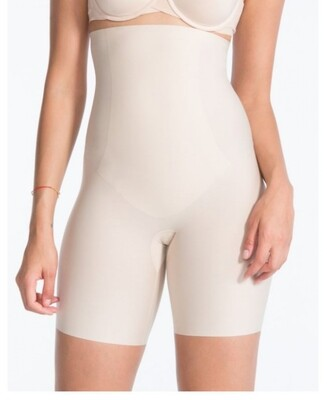 High waisted mid-thigh short 10006Rb02 Soft Nude Spanx