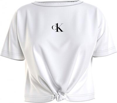 Cropped top KW0KW01366z21 White Calvin Klein