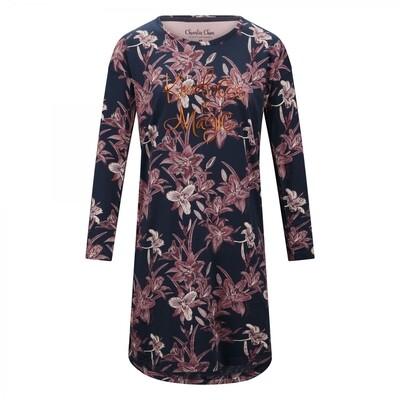 Women big shirt F41111-38 Indigo Charlie Choe Fantasy Dreams