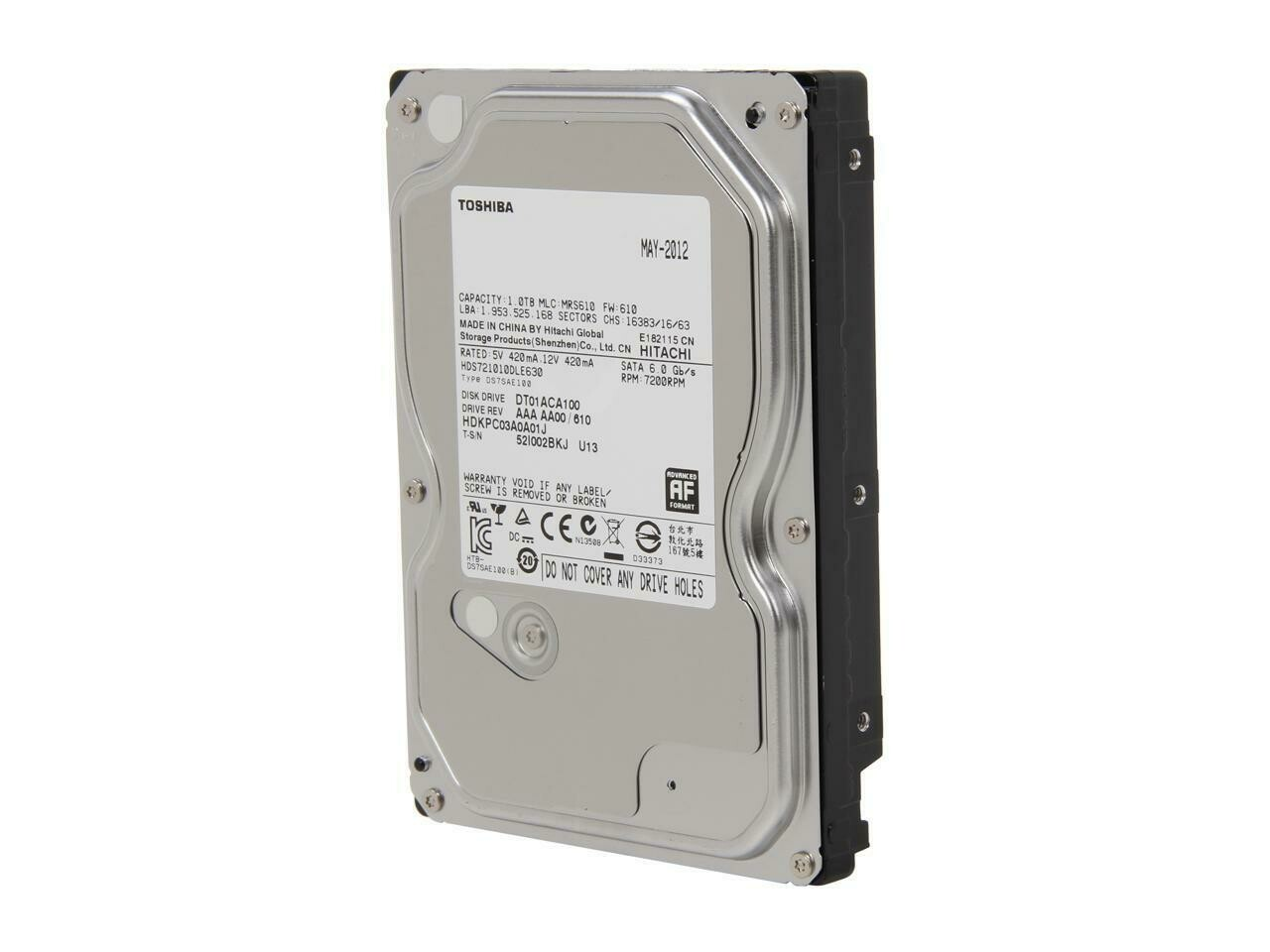 """Hard Drives for PC and NAS 3.5"""""""