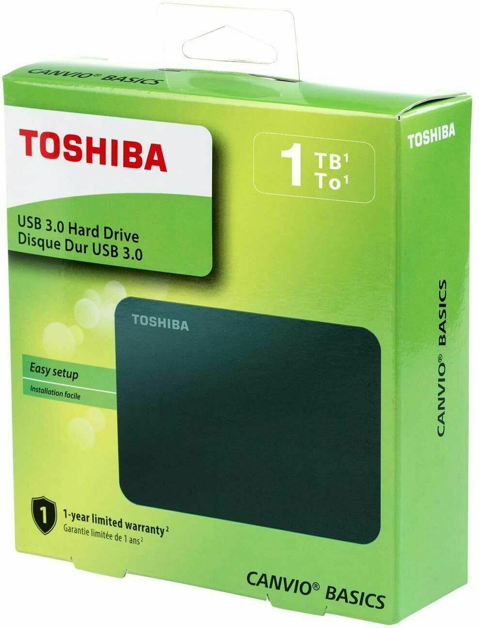 Toshiba Canvio 4TB