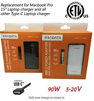 Prodata USB-C Power Adaptor