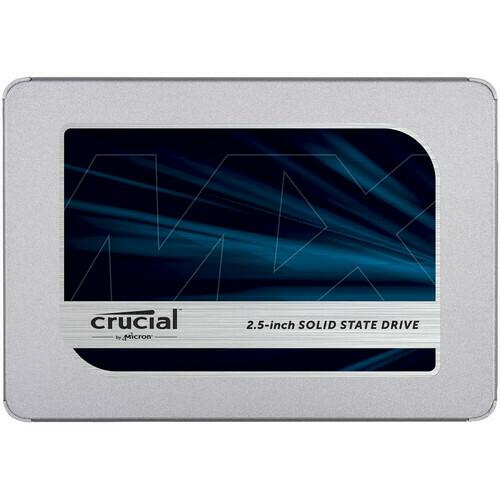 Crucial 500GB MX500 3D NAND SATA 2.5 SSD,