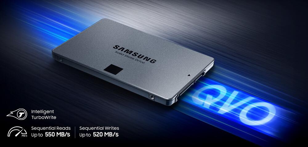 """Samsung 1TB 870 QVO 2.5"""" SATA III SSD"""