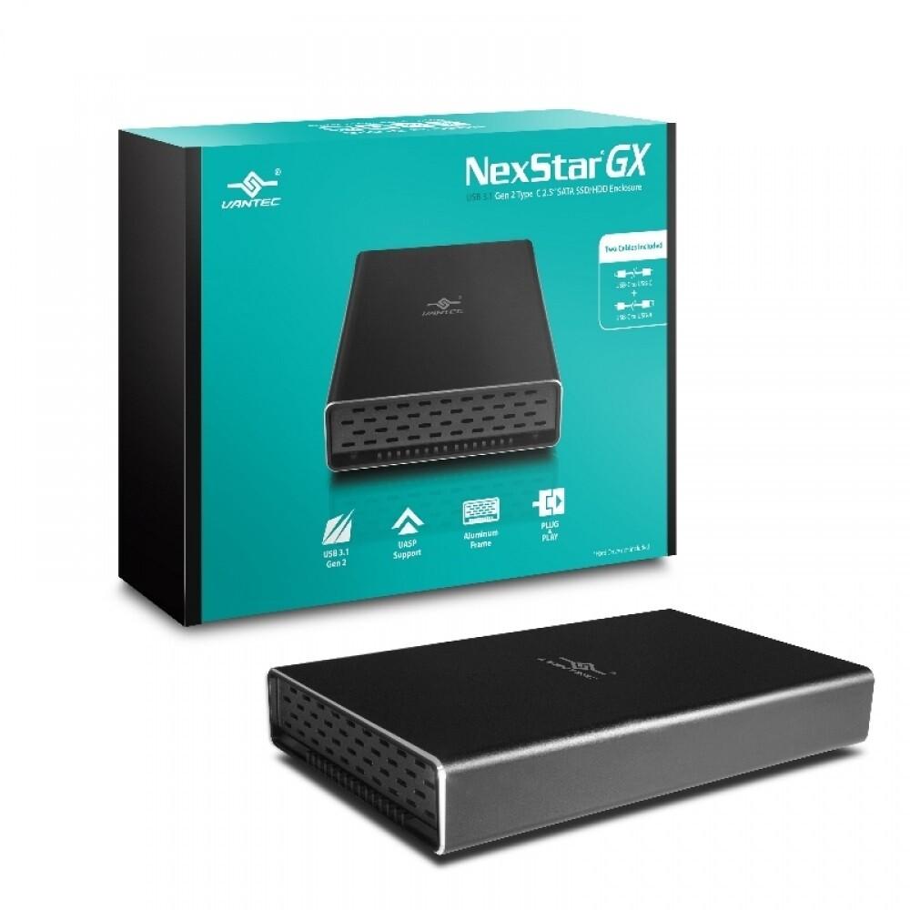 NexStar GX External Enclosure - NST-271C31-BK