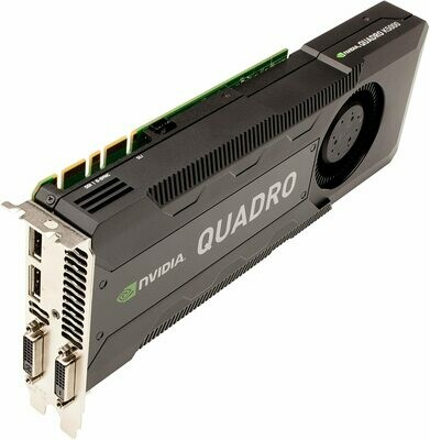 Nvidia Quadro K5000 4GB PCIe 2.x16 DisplayPort + DVI