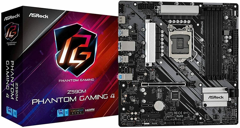 ASRock Z590M Phantom Gaming 4