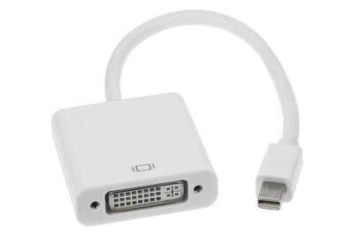Mini DisplayPort-M to DVI-F