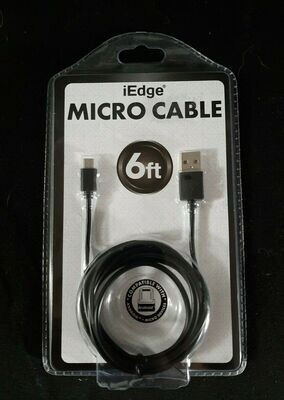 IEdge Micro Cable USB to Micro USB (Android Compatible)