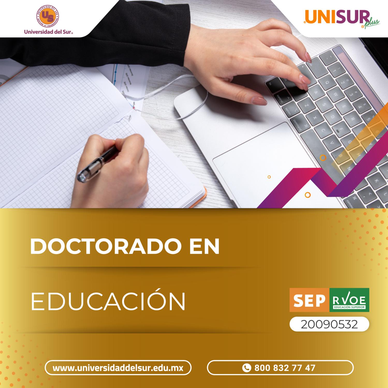 Doctorado en Educación Inscripción