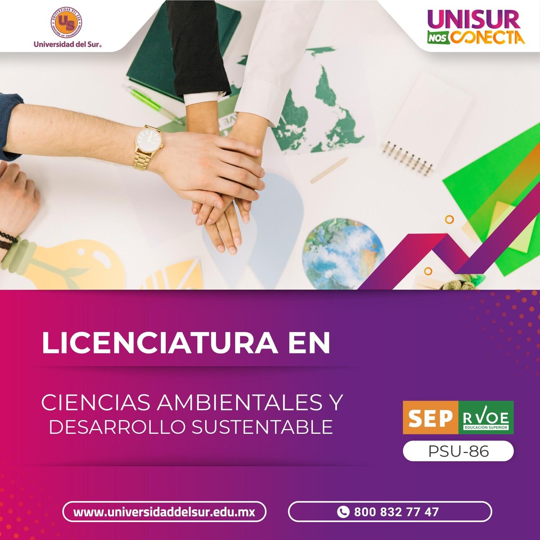 Licenciatura en Ciencias Ambientales y Desarrollo Sustentable Colegiatura