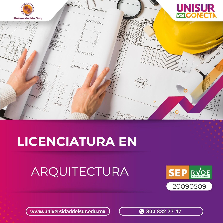 Licenciatura en Arquitectura Inscripción