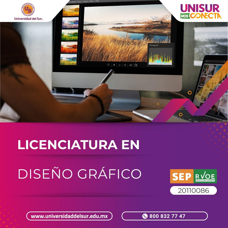 Licenciatura en Diseño Gráfico Inscripción