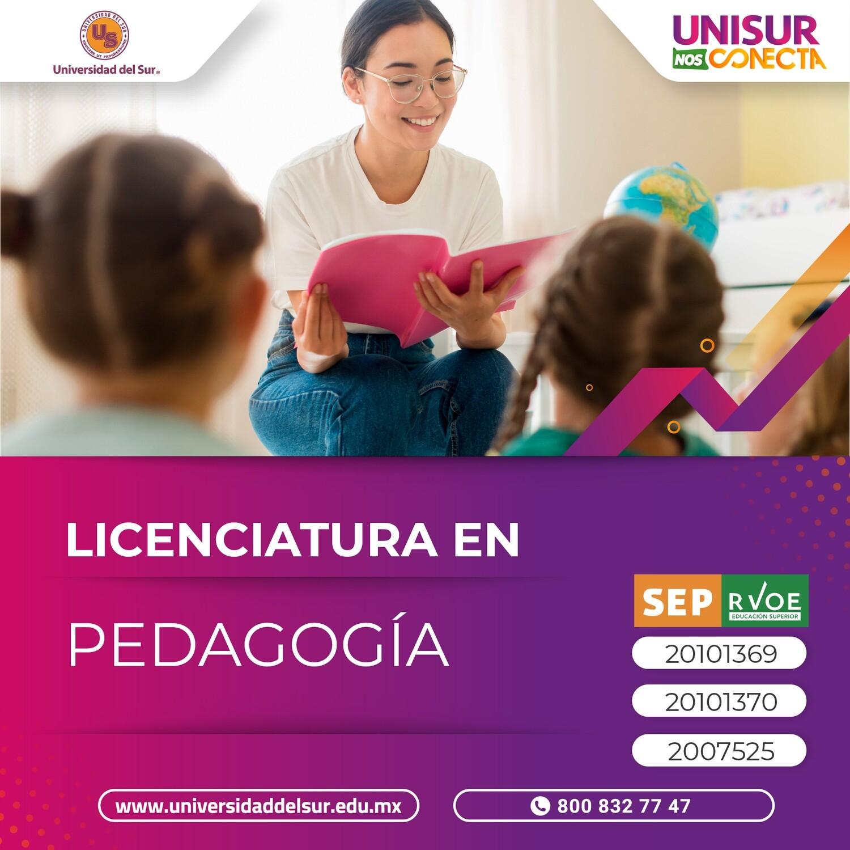 Licenciatura en Pedagogía Colegiatura