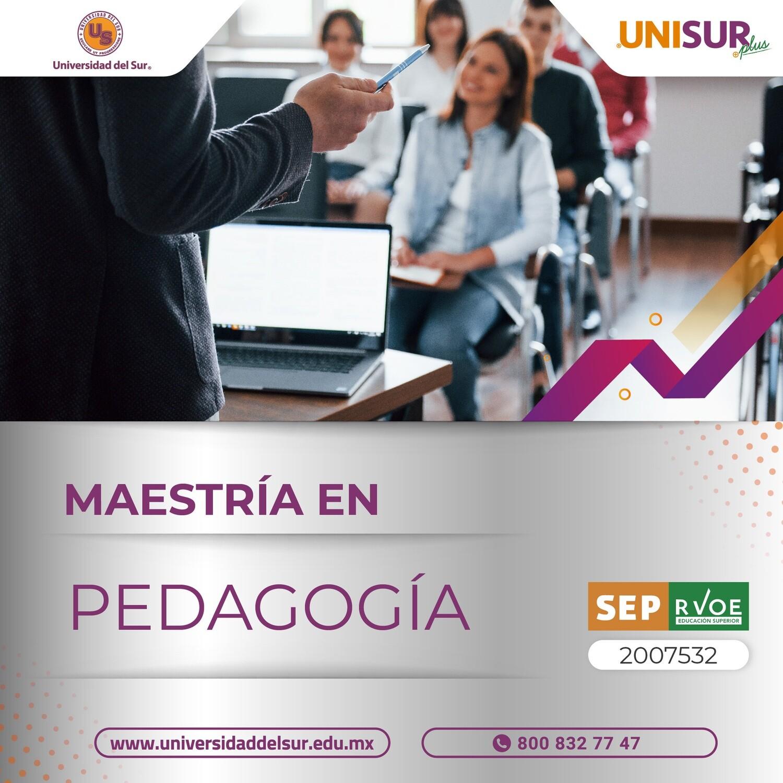 Maestría en Pedagogía Inscripción
