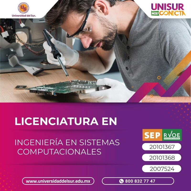 Mérida Licenciatura en Ingeniería en Sistemas Computacionales Inscripción