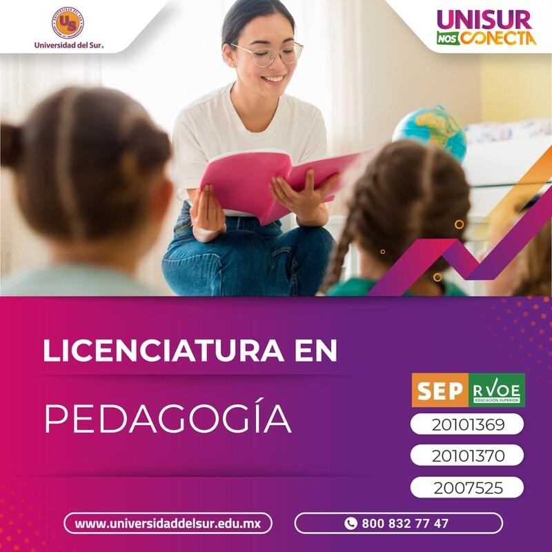 Tuxtla Licenciatura en Pedagogía Colegiatura