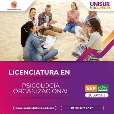 Licenciatura en Psicología Organizacional Inscripción