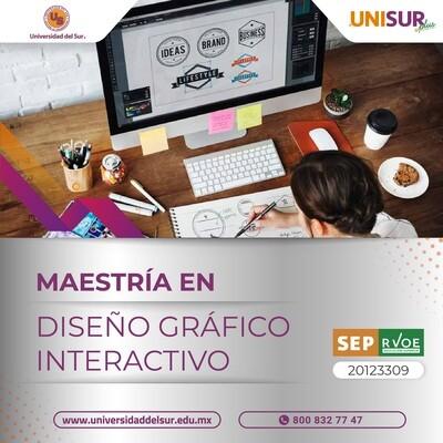 Maestría en Diseño Gráfico Interactivo Colegiatura