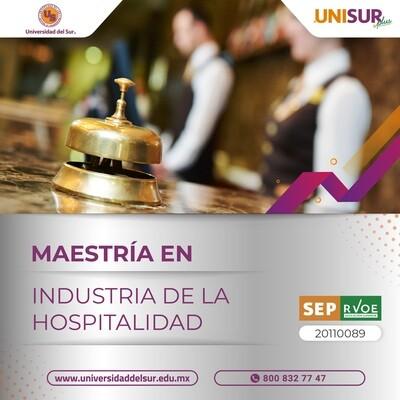 Maestría en Industria de la Hospitalidad Inscripción