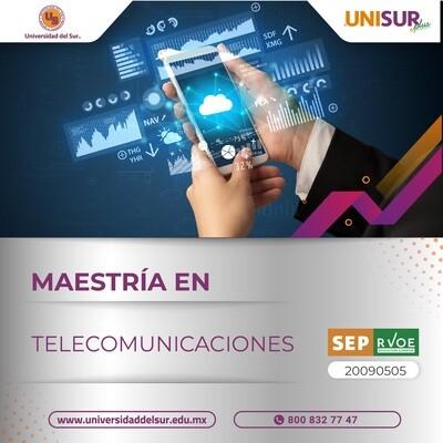 Maestría en Telecomunicaciones Inscripción