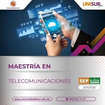 Maestría en Telecomunicaciones Colegiatura