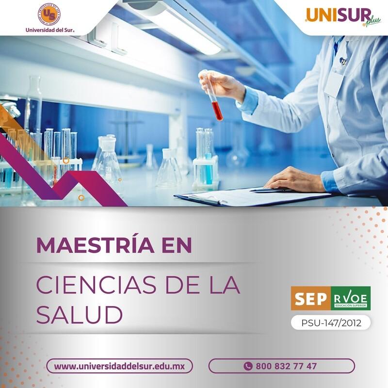 Maestría en Ciencias de la Salud Inscripción